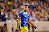 Eduardo Morante (2) of Ecuador. The men's national team of the United States (USA) was defeated by Ecuador (ECU) 1-0 during an international friendly at Red Bull Arena in Harrison, NJ, on October 11, 2011.