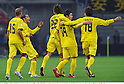 Kashiwa Reysol team group,.DECEMBER 8, 2011 - Football / Soccer :.Masato Kudo (2nd R) of Kashiwa Reysol celebrates with his teammates after scoring their second goal during the FIFA Club World Cup Playoff match for Quarterfinals match between Kashiwa Reysol 2-0 Auckland City FC at Toyota Stadium in Aichi, Japan. (Photo by Takamoto Tokuhara/AFLO)