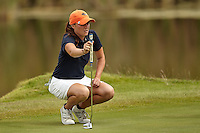 SAN ANTONIO, TX - OCTOBER 25, 2016: The University of Texas at San Antonio Roadrunners finish 7th in the Maryb S. Kauth Invitational Women's Golf Tournament at the Briggs Ranch Golf Club. (Photo by Jeff Huehn)