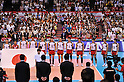 Japan Men's Volleyball Team Group (JPN),.JUNE 2, 2012 - Volleyball : FIVB the Men's World Olympic Qualification Tournament for the London Olympics 2012, between Japan 3-0 Venezuela at Tokyo Metropolitan Gymnasium, Tokyo, Japan. (Photo by Jun Tsukida/AFLO SPORT) [0003].
