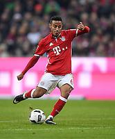 Fussball  1. Bundesliga  Saison 2016/2017  14. Spieltag  FC Bayern Muenchen - VfL Wolfsburg    10.12.2016 Thiago Alcantara (FC Bayern Muenchen)