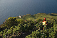 Stromboli, Eolian Islands, Italy, June 2006. The Volcanic Eolian Islands of Southern Italy offer a spectacular landscape for trekking while staying in picturesque towns. Photo by Frits Meyst/Adventure4ever.com