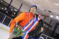 SHORTTRACK: AMSTERDAM: Jaap Edenbaan, 03-01-2016, NK Shorttrack, Nederlands kampioen Freek van der Wart, ©foto Martin de Jong