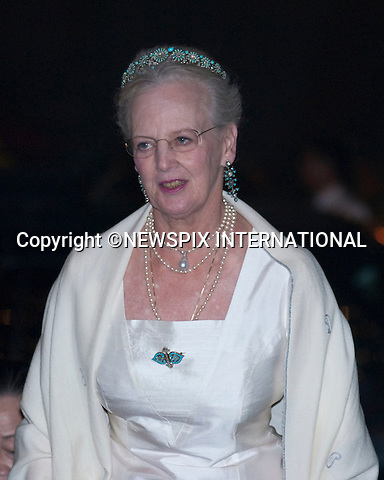 """DANISH ROYALS attend state banquet at the Presidential Palace.The Danish Royal Family on the first official day of their State Visit to Vietnam. Vietnam is the first Royal visit the Danish Royal Family has taken together. Queen Margrethe, The Prince Consort Henrik, Crown Prince Fredrik and Crown Princess Mary attended the Official State Banquet at the Presidential Palace hosted by President Nguyen Minh TRIET and First Lady Tran Thi Kim Chi,  Hanoi, Vietnam_02/11/2009..Mandatory Photo Credit: ©Dias/Newspix International..**ALL FEES PAYABLE TO: """"NEWSPIX INTERNATIONAL""""**..PHOTO CREDIT MANDATORY!!: NEWSPIX INTERNATIONAL(Failure to credit will incur a surcharge of 100% of reproduction fees)..IMMEDIATE CONFIRMATION OF USAGE REQUIRED:.Newspix International, 31 Chinnery Hill, Bishop's Stortford, ENGLAND CM23 3PS.Tel:+441279 324672  ; Fax: +441279656877.Mobile:  0777568 1153.e-mail: info@newspixinternational.co.uk"""