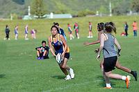 Touch Junior Hutt Valley Girls Division 1 Upper Hutt College 1 v HVHS 1, 6/11/2012<br /> Photos by Masanori Udagawa<br /> www.photowellington.photoshelter.com