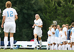 1 September 2007: North Carolina's Rachel Givan (16). The University of South Carolina Gamecocks defeated the University of North Carolina Tar Heels 1-0 at Fetzer Field in Chapel Hill, North Carolina in an NCAA Division I Womens Soccer game.