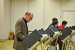 Richard Howorth votes at the Oxford Conference Center in Oxford, Miss. on Tuesday, November 6, 2012.