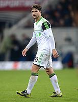 FUSSBALL  1. BUNDESLIGA  SAISON 2012/2013  14. SPIELTAG     TSG 1899 Hoffenheim - VfL Wolfsburg       18.11.2012 Diego (VfL Wolfsburg)