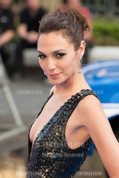 Gal Gadena arriving for the 'Fast And Furious 6' Premiere, at Empire Leicester Square, London. 07/05/2013 Picture by: Simon Burchell / Featureflash