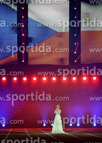 05-03-2015 CZE: European Athletics Indoor Championships, Prague<br /> Opening ceremony in O2 Arena