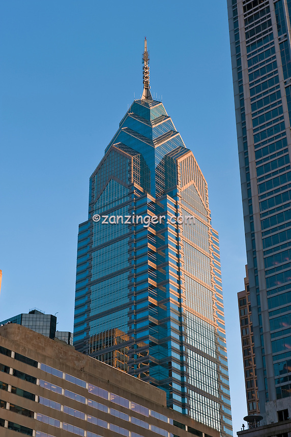 One Liberty, Downtown, Philadelphia, PA, Penn Center, Market West,  Skyline, Buildings, Skyscrapers,