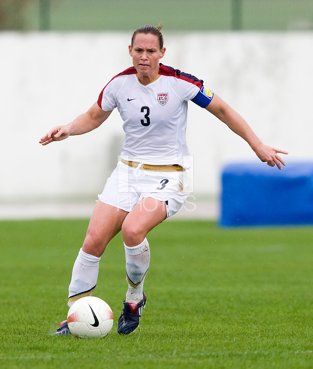 Christie Rampone. The USWNT defeated Denmark, 2-0, in Lagos, Portugal during the Algarve Cup.
