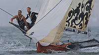 AUSTRALIA, Sydney Harbour, 17th February, JJ Giltinan Championship, Race 3, applianceonline.com.au approach Taylors Bay