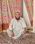 Syed Zaidi Hussain Shah, a tannery worker from Karachi.