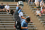 06 September 2009: UNC's Brooks Haggerty (1). The University of North Carolina Tar Heels defeated the Evansville University Purple Aces 4-0 at Fetzer Field in Chapel Hill, North Carolina in an NCAA Division I Men's college soccer game.