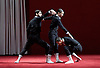 La Veronal<br /> Voronia<br /> choreography by Marcos Morau <br /> at Sadler's Wells, London, Great Britain <br /> press photocall <br /> 19th October 2015 <br /> <br /> 19th &amp; 20th October 2015 at Sadlers Wells. <br /> <br /> <br /> <br /> Photograph by Elliott Franks <br /> Image licensed to Elliott Franks Photography Services