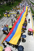 Marcha Nacional de Maestros / Teachers National Protest, Bogotá, 27-04-2015