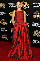 NEW YORK CITY, NY, USA - DECEMBER 08: Italia Ricci arrives at the World Premiere Of Walt Disney Pictures' 'Into The Woods' held at the Ziegfeld Theatre on December 8, 2014 in New York City, New York, United States. (Photo by Celebrity Monitor)