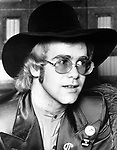 Elton John 1972 Born To Boogie premiere..Photo by Chris Walter/Photofeatures..
