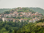 Houses on the hillside, Veliko Tarnovo, Bulgaria