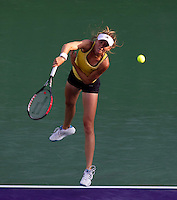 Daniela HANTUCHOVA (SVK) against Venus WILLIAMS (USA) in the third round of the women's singles. Venus Williams beat Daniela Hantuchova 1-6 7-5 6-4..International Tennis - 2010 ATP World Tour - Sony Ericsson Open - Crandon Park Tennis Center - Key Biscayne - Miami - Florida - USA - Mon 29th Mar 2010..© Frey - Amn Images, Level 1, Barry House, 20-22 Worple Road, London, SW19 4DH, UK .Tel - +44 20 8947 0100.Fax -+44 20 8947 0117