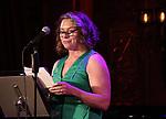 Constanza Romero Wilson attends 2017 New York Drama Critics' Circle Awards Reception at Feinstein's/54 Below on May 18, 2017 in New York City.