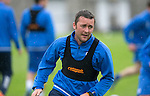 St Johnstone Training&hellip;22.07.16<br />Tam Scobbie pictured during training this morning at McDiarmid Park ahead of tomorrows Betfred Cup game against his former team Falkirk.<br />Picture by Graeme Hart.<br />Copyright Perthshire Picture Agency<br />Tel: 01738 623350  Mobile: 07990 594431