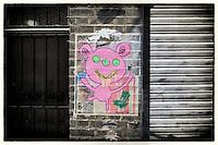 Paste-up by Bortusk Leer, London, UK