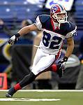 31 December 2006: Buffalo Bills wide receiver Josh Reed warms up prior to a game against the Baltimore Ravens at M&amp;T Bank Stadium in Baltimore, Maryland. The Ravens defeated the Bills 19-7. Mandatory Photo Credit: Ed Wolfstein Photo.<br />