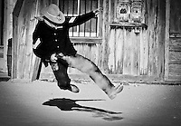 Old West Gunfight at Old Tucson Movie Studio - Arizona