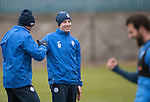 St Johnstone Training&hellip;09.12.16<br />Steven MacLean pictured during training at McDiarmid Park this morning..<br />Picture by Graeme Hart.<br />Copyright Perthshire Picture Agency<br />Tel: 01738 623350  Mobile: 07990 594431