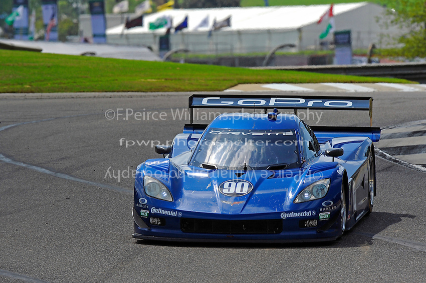 #90 Spirt of Daytona Corvette DP of Antonio Garcia & Richard Westbrook, class: Daytona Prototype (DP)