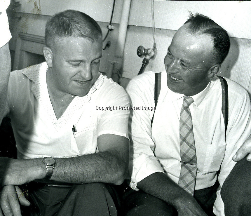 Bernie Minden & Al Berning