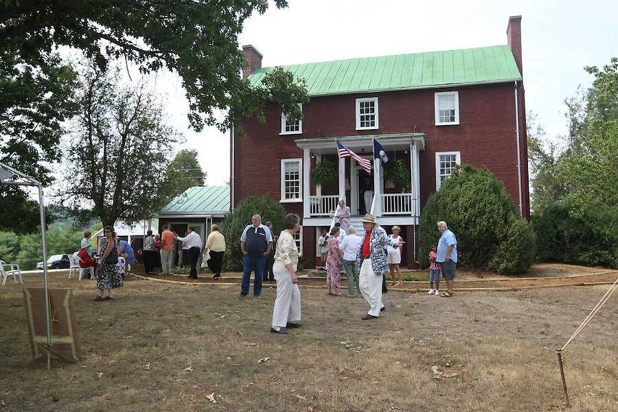 The Nelson County Museum of History had its grand opening with two exhibits, how electricity came to the county and its effect on people's lives and Hurricane Camille. (Photo/Andrew Shurtleff )