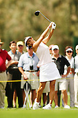 March 27, 2005; Rancho Mirage, CA, USA;  Grace Park tees off at the 12th hole during the final round of the LPGA Kraft Nabisco golf tournament held at Mission Hills Country Club.  Park finished the day with a 5 under par 67 and finished tied for 5th with an overall score of 4 under par 284.<br />