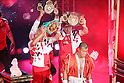 Koki Kameda (JPN), AUGUST 31, 2011 - Boxing : Koki Kameda of Japan  go to the ring with his champion belt during the WBA Bantam weight title bout at Nippon Budokan, Tokyo, Japan. Koki Kameda of Japan won the fight on points after twelve rounds. (Photo by Yusuke Nakanishi/AFLO SPORT) [1090]