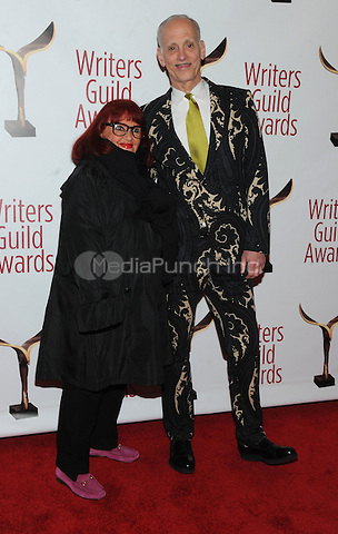 NEW YORK, NY - FEBRUARY 19: John Waters and Pat Martin attends the 69th Annual Writers Guild Awards New York ceremony at Edison Ballroom on February 19, 2017 in New York City. Photo by: John Palmer/ MediaPunch