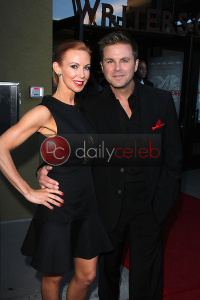 Challen Cates, Aaron McPherson<br /> at the HBO Premiere of &quot;The Normal Heart,&quot; WGA Theater, Beverly Hills, CA 05-19-14<br /> David Edwards/DailyCeleb.com 818-249-4998
