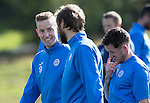 St Johnstone Training&hellip;.30.09.16<br />Streven MacLean pictured during training this morning with Murray Davidson<br />Picture by Graeme Hart.<br />Copyright Perthshire Picture Agency<br />Tel: 01738 623350  Mobile: 07990 594431