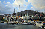 Tall masted yachts, Santa Cruz de Tenerife, Santa Cruz harbour Marina,boats,yachts. Canary Islands