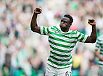 Victor Wanyama celebrates after scoring from outside the box