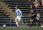 11 September 2005: Dax McCarty (8) is chased by Ryan Leeton (11). The University of North Carolina Tarheels defeated the University of South Carolina Gamecocks 2-0 in an NCAA Divison I men's soccer game at Fetzer Field in Chapel Hill, NC.