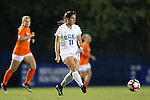 15 October 2016: Duke's Olivia Erlbeck. The Duke University Blue Devils hosted the University of Virginia Cavaliers at Koskinen Stadium in Durham, North Carolina in a 2016 NCAA Division I Women's Soccer match. Duke won the game 1-0.