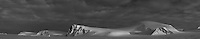 Spitsbergen - Panoramic B&W