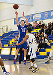 LAHS Boys Varsity basketball at Santa Clara HS, January 11, 2013.  LAHS wins 55-50...20   Daniel Rosenbaum..