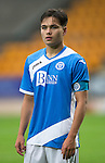 St Johnstone FC U20&rsquo;s Season 2016-17<br />Aaron Comrie<br />Picture by Graeme Hart.<br />Copyright Perthshire Picture Agency<br />Tel: 01738 623350  Mobile: 07990 594431