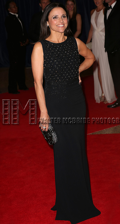 Julia Louis-Dreyfus attends the 100th Annual White House Correspondents' Association Dinner at the Washington Hilton on May 3, 2014 in Washington, D.C.