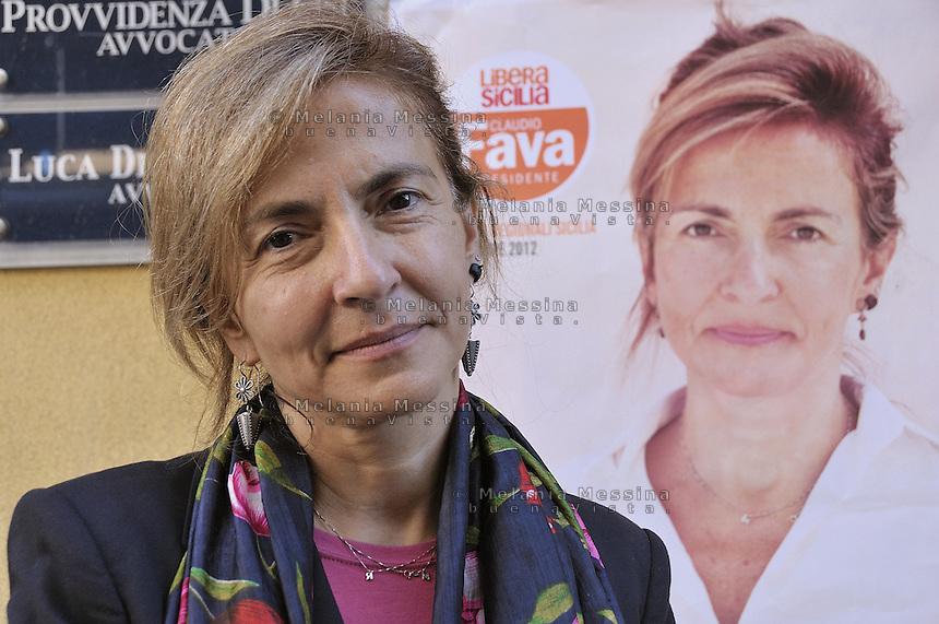 Termini Imerese, Giovanna Marano candidata di SEL, IDV e Rifondazione Comunista alla presidenza della regione Sicilia