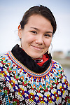 Portrait of Claudia, Greenland singer. Cape Farewell Youth Expedition 08(©Robert vanWaarden ALL RIGHTS RESERVED)
