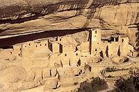 Cliff Palace Anasazi ruins, Mesa Verde National Park, Colorado, U.S.A.